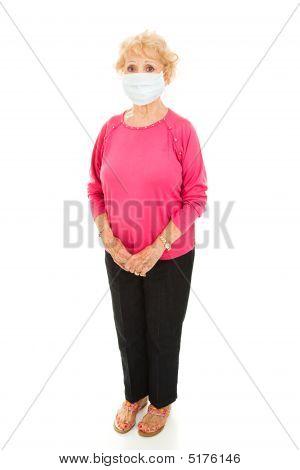 Epidemic - Senior Woman Full Body