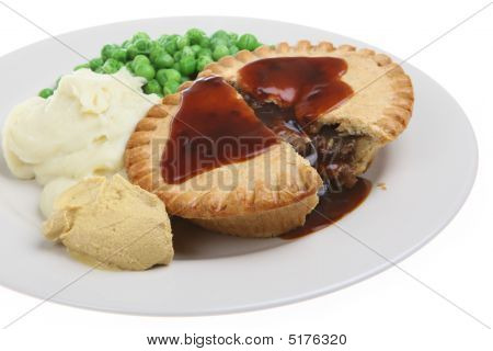 Steak Pie & Mash