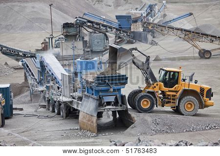 Activity in the Construction Site