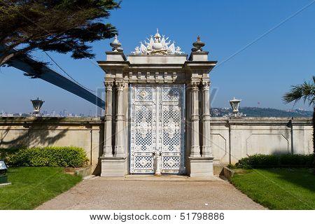 Gate In Beylerbeyi Palace