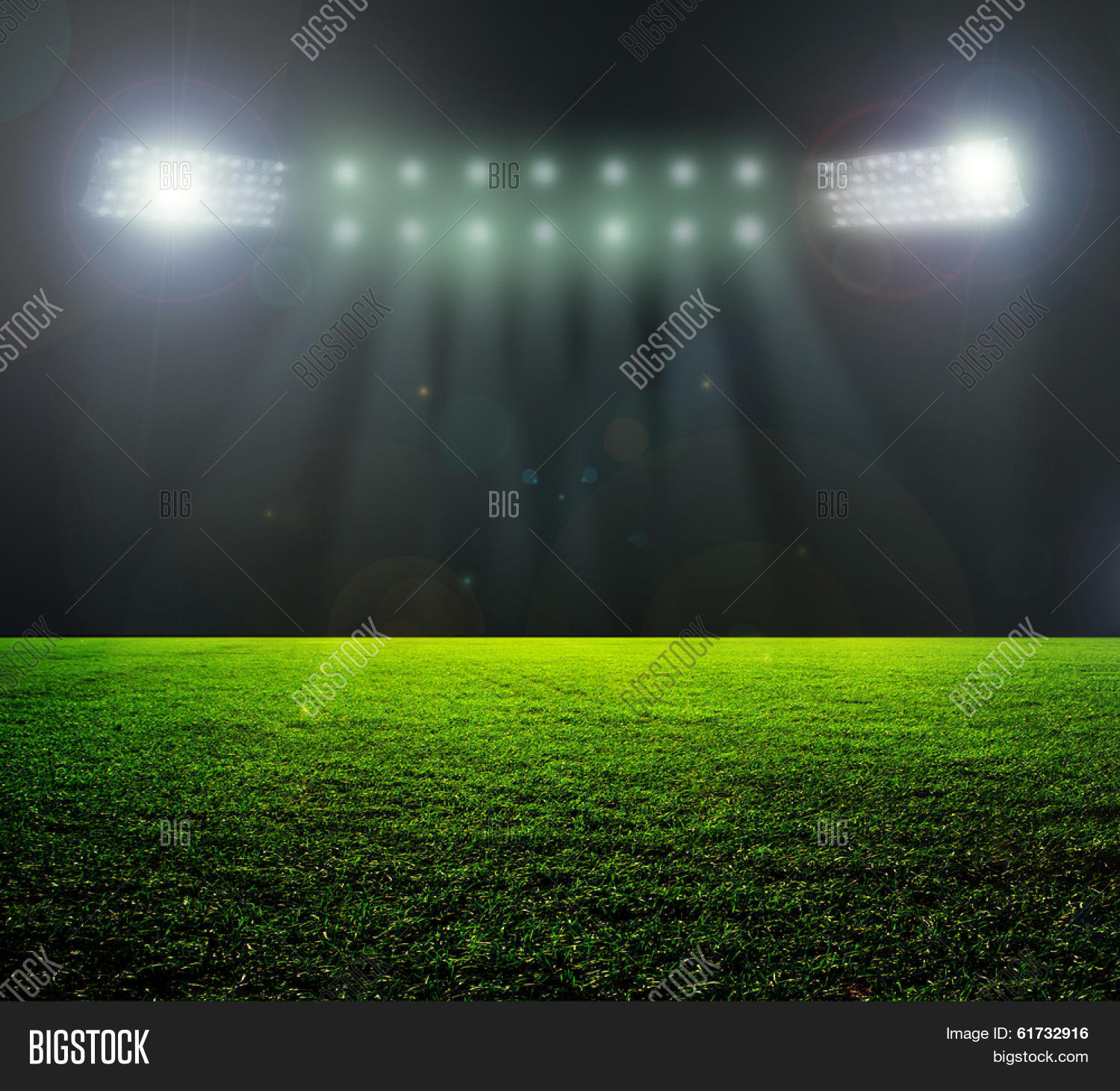 On Stadium. Abstract Image & Photo (Free Trial) | Bigstock Soccer Backgrounds For Photography