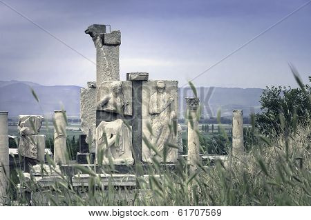 Gate Of Heracles Sculptures