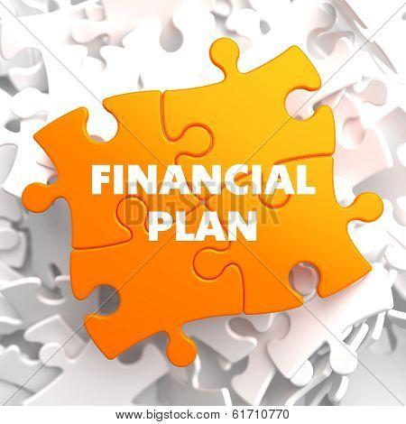 Financial Plan on Orange Puzzle.