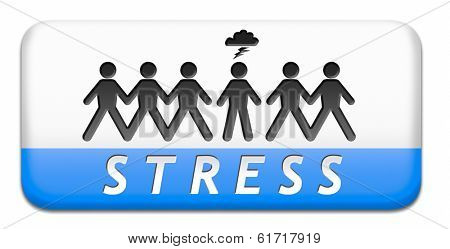 stress disorder from acute work pressure is a factor triggering a panic attack bad mental health