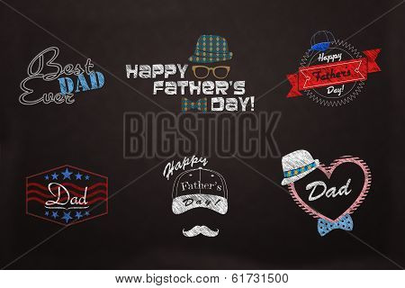 Fathter's Day -  Love Dad Design Collection