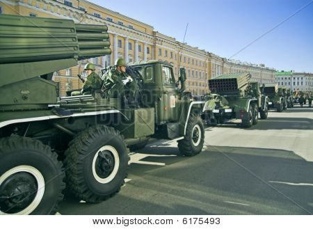 Missile Vehicles Lined