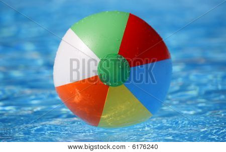 Beachball Floating