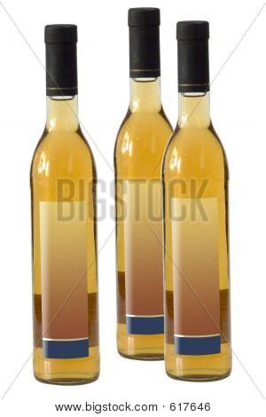 Three Sake Bottles