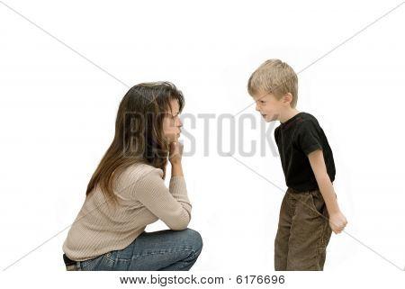 Parent and Child Conflict.