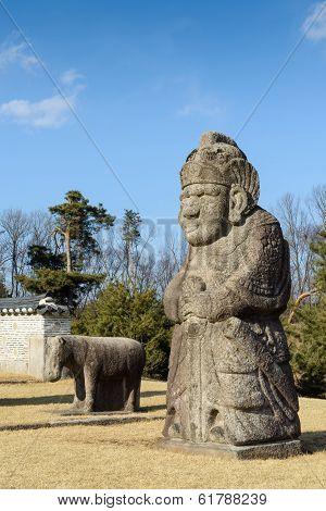 Korean royal tomb