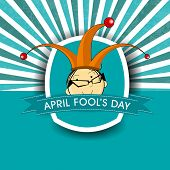 April Fools Day funky concept for April Fools Day.  poster