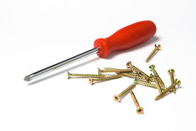 Red screwdriver