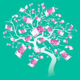 500 Euro Tree