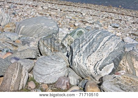Rocks on a Beach