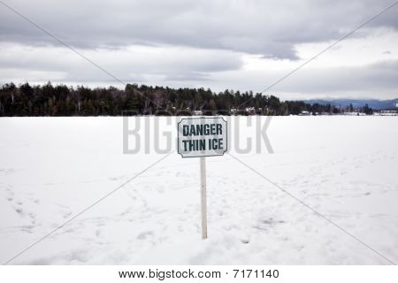 Danger Think Ice