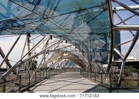 Footbridge Across The River