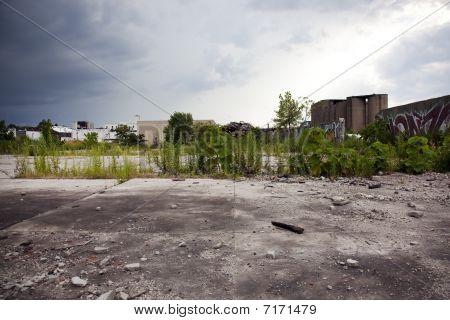 Empty Abandoned Lot