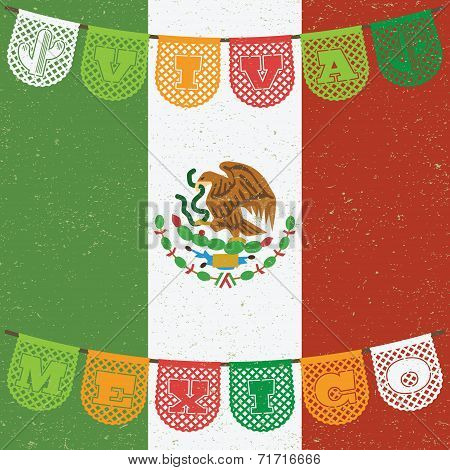 Mexican Flag Decoration