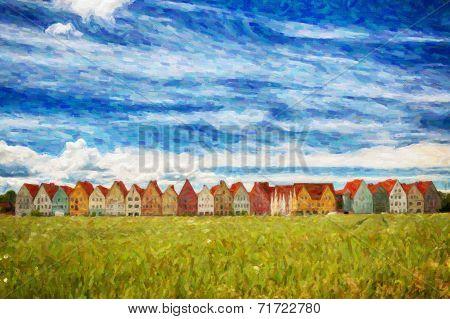 Jakriborg Digital Painting
