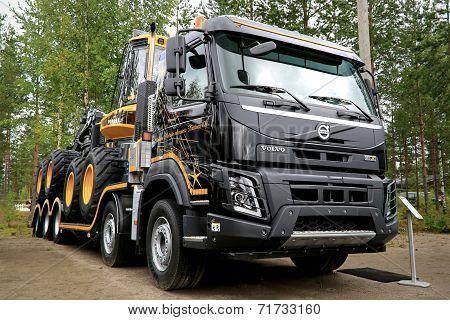 New Volvo FMX Truck At Finnmetko 2014