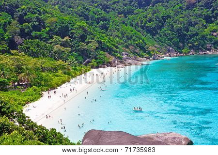 Top View Of Similan Island. Thailand
