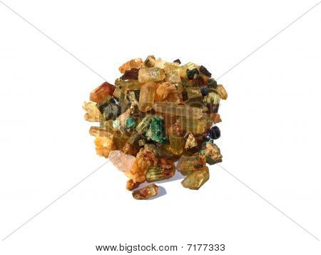 Crystals and minerals