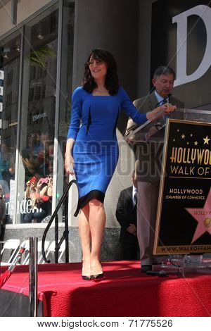LOS ANGELES - SEP 9:  Katey Sagal star at the Katey Sagal Hollywood Walk of Fame Star Ceremony at Hollywood Blvd. on September 9, 2014 in Los Angeles, CA