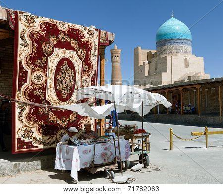 Carpet Market In Bukhara