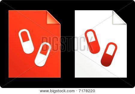 Pills On Paper Set