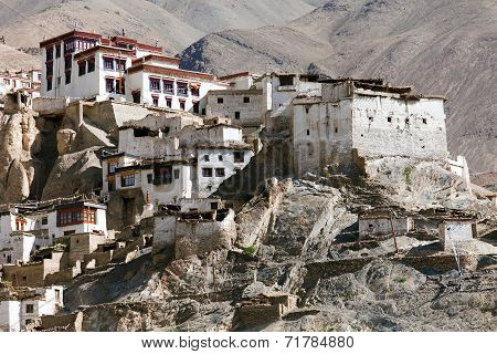 Lamayuru Gompa - Buddhist Monastery In Indus Valley
