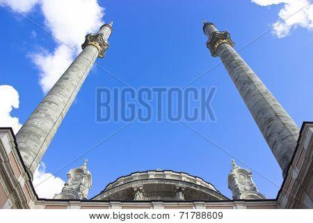 Ortakoy Mosque Minarets