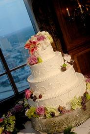 weiße Weding Kuchen