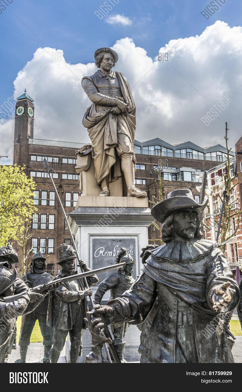 Rembrandt Statue Image & Photo (Free Trial) | Bigstock
