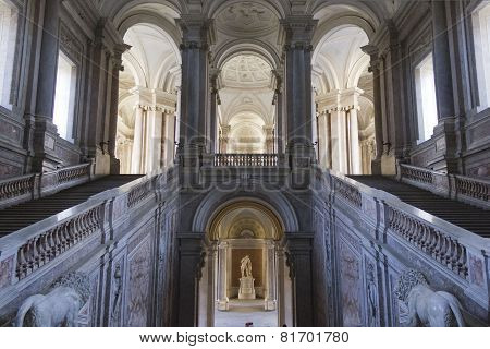 Caserta Royal Palace Honour Grand Staircase