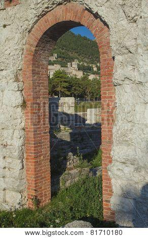 Ancient Town Of Gubbio (umbria, Italy)