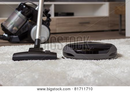 Traditional Vacuum Cleaner Versus A Modern One