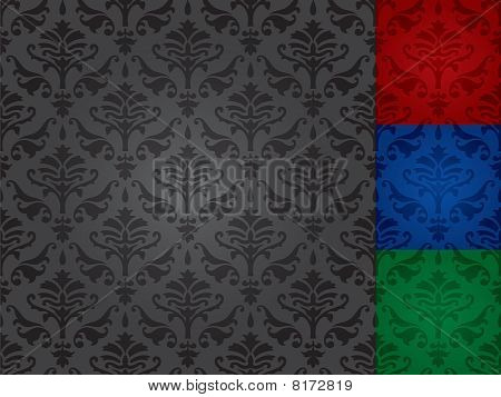 seamless patterns (vector)