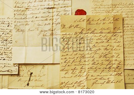 Old handwriting - Letters