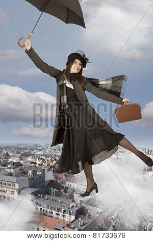 Flying Away Like Mary Poppins
