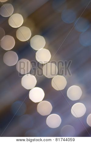 Abstract string lights