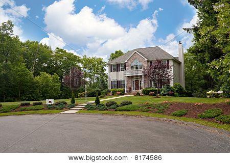 House On A Culdesac
