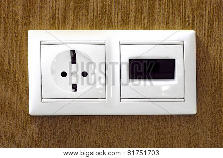 The Electric And Phone  Sockets