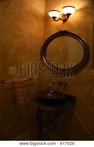 Upscale vanity