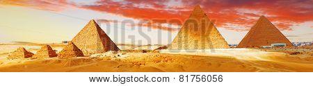 Great Pyramid    Located At Giza