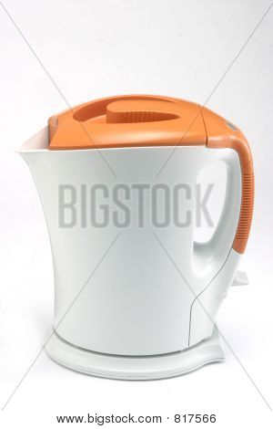 Cordless Orange Electric Jug Kettle1