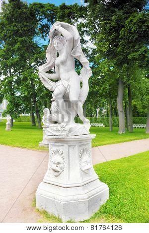 Tsarskoe Selo (pushkin).statue Of Galatea.