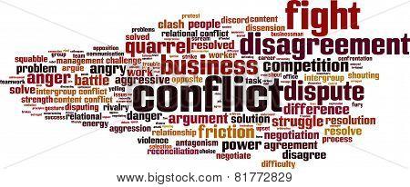 Conflict Word Cloud