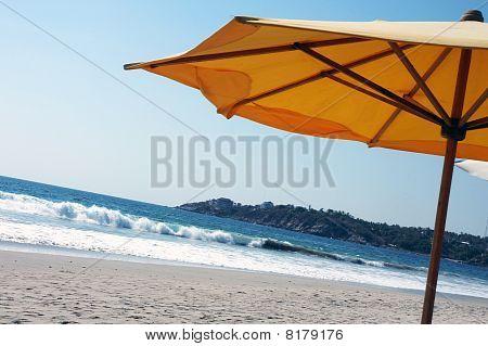 Beach Umbrella, Puerto Escondido