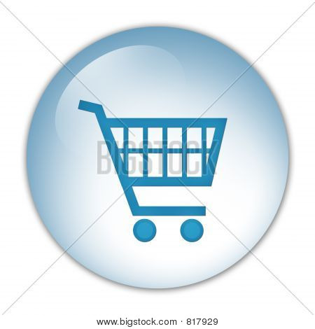 shopping cart, icon
