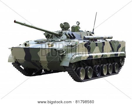 Militaru Technics - Tank. Isolated
